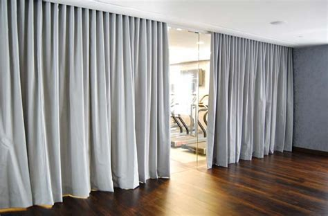 room divider curtain wall shimmer screen metal mesh curtains horizon window treatments