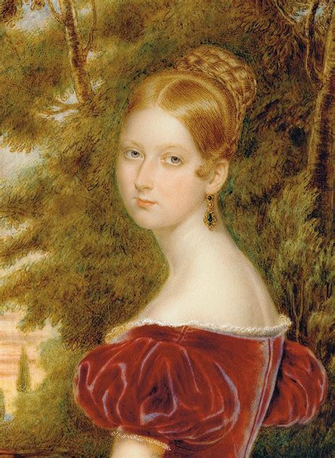 Paintings For Home Decor by Queen Victoria Painting By Henry Collen