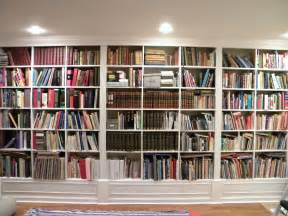 Build Built In Bookcase Full Wall Bookcases Home Library Designs Shelves English