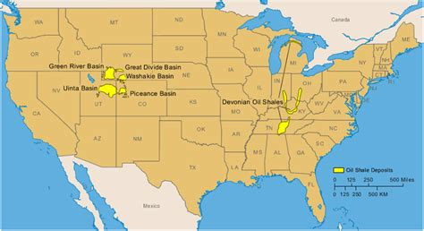 united states shale map shale deposits maps geology resources