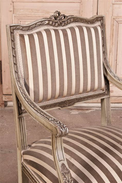 antique french armchairs pair antique french louis xvi armchairs at 1stdibs