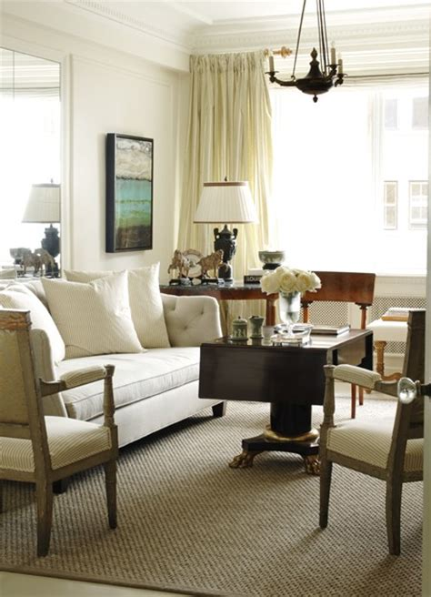 warm white living room free house interior design ideas