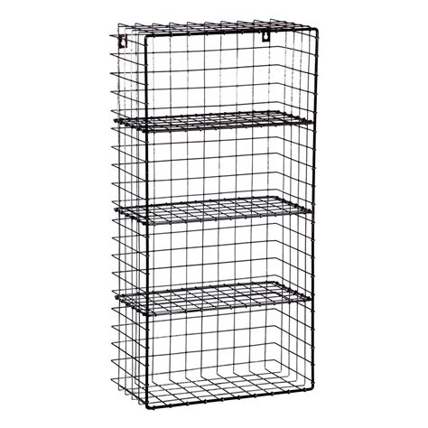 Wire Wall Racks by Wire Industrial Wall Rack