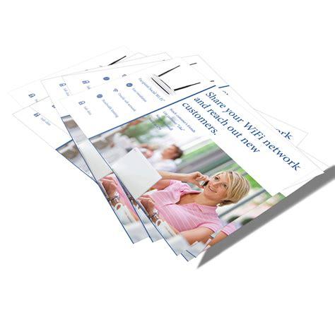 leaflet design warrington professional photography and video production studio