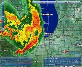 Chicago Radar Map chicago weather center radar aug 23 2011 flickr