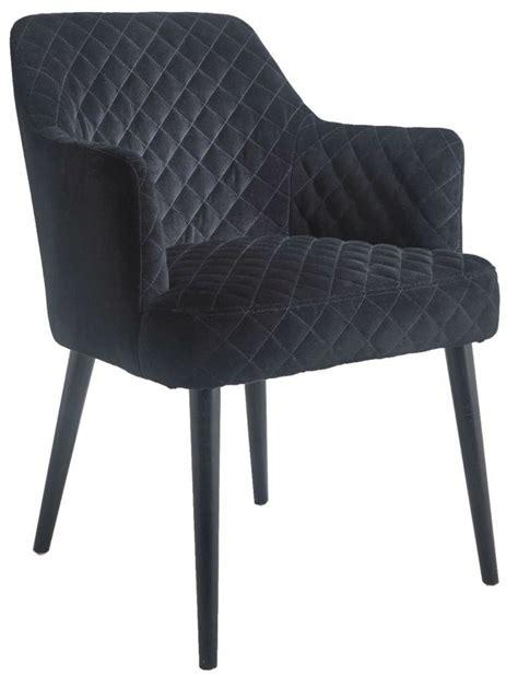 Black Velvet Armchair by Buy Kirk Black Velvet Armchair Furntastic