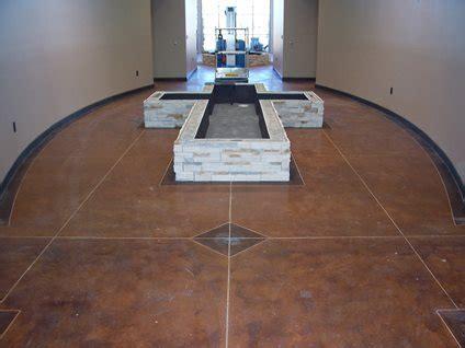 church floor designs  concrete network