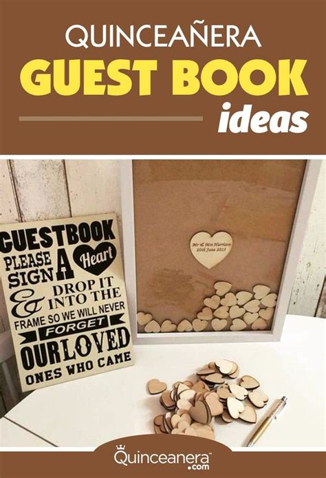 Wedding Guest Book Backdrop by Clever Quinceanera Guest Book Ideas You T Seen