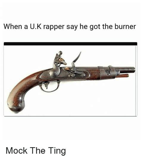 Takara Mock U Rappers by When A Uk Rapper Say He Got The Burner Mock The Ting