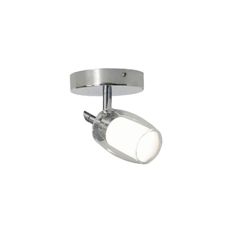 Bazz Lighting Fixtures Bazz Lighting Px7151ch Chrome Accent Series Single Light Semi Flush Ceiling Fixture Finished In