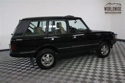 black land rover range rover 1994 black 127k auto ac range rover classic classic