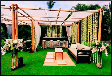 backyard wedding decoration ideas design and of house also