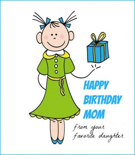 printable birthday cards mom funny mother birthday quote from daughter