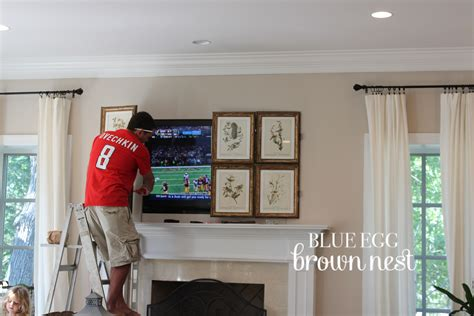 How To Hide A Tv In Your Living Room by Introducing The Blue Egg Brown Nest Tv Hide Seek Screen