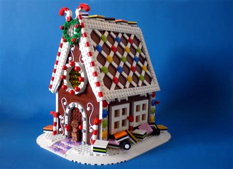 lego gingerbread house lego ideas gingerbread house