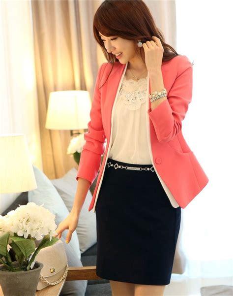blazer wanita korea style cantik model terbaru jual murah import kerja