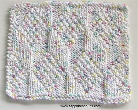 washcloth knitting pattern dishcloth and washcloth knitting patterns in the loop