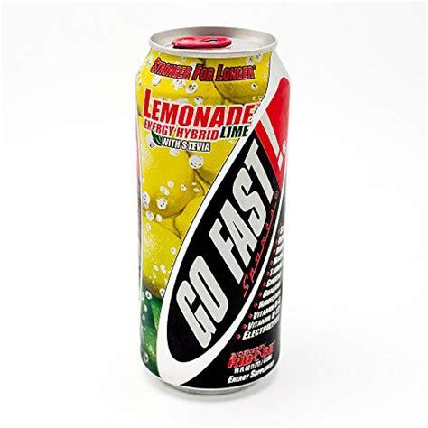 energy drink with stevia usa go fast energy drink can 16 oz lemonade energy