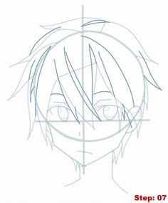 vorhänge zeichnen anime hair boy template anime