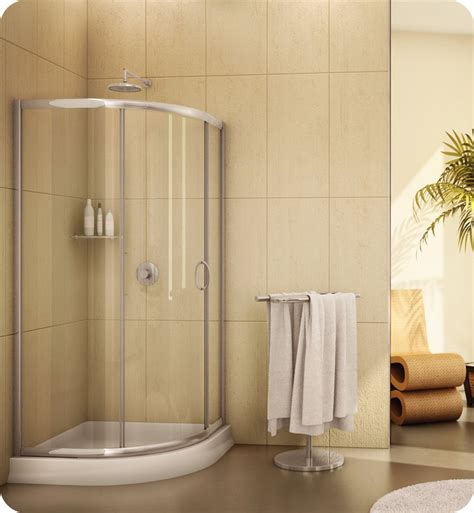 Curved Shower Door Fleurco Fa363 Signature 3 Frameless Curved