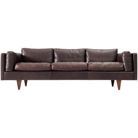 brown sofas for sale illum wikkels 248 brown leather three seater sofa for sale at