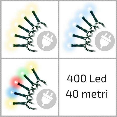 illuminazioni natalizie per esterno natalizie per esterno 400 minilucciole led