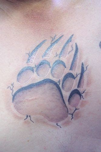 bear claw tattoo meaning paw claw claw paws and om