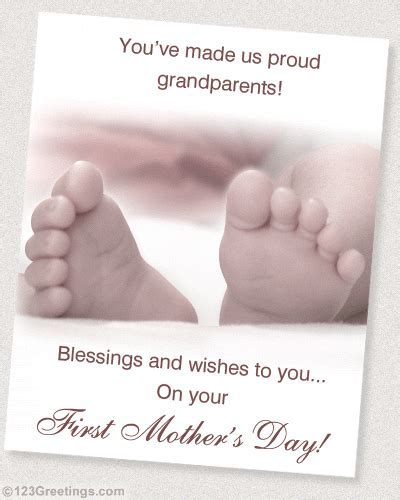 First Mother's Day Cards, Free First Mother's Day eCards