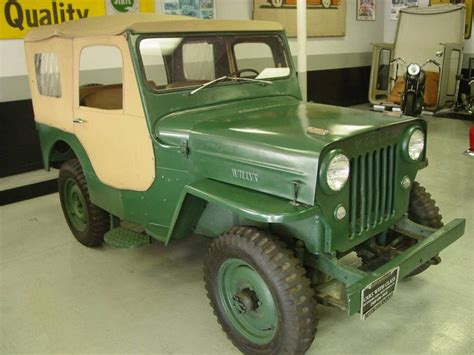 1957 Willys Jeep 1957 Willys Cj3b Jeep Cj3b Cars Motors
