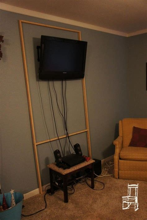 Tv Verstecken by Best 25 Hiding Cables Ideas On Hide Cable