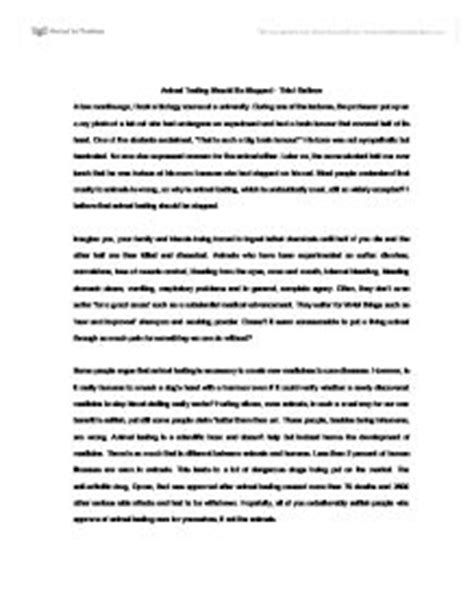 Against Animal Rights Essay by Animal Essay Rutgers Essay