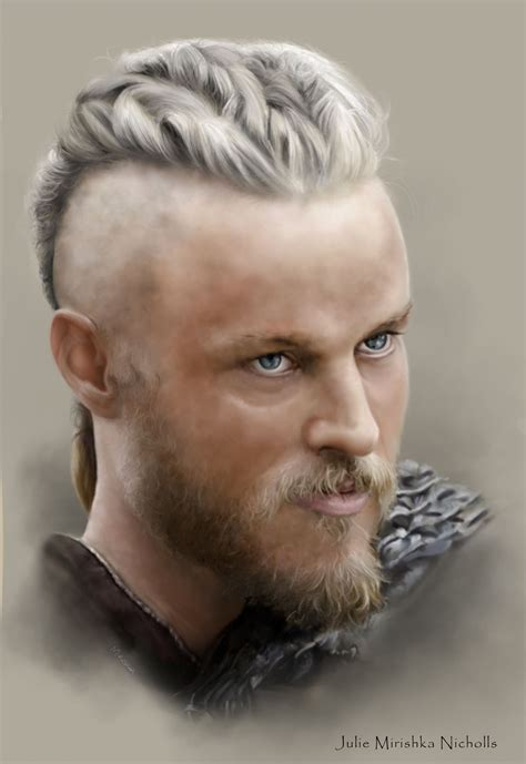 why is ragnars hair gone ragnar lothbrok vikings travis fimmel ragnar