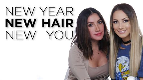 new year wash hair new year new hair new you