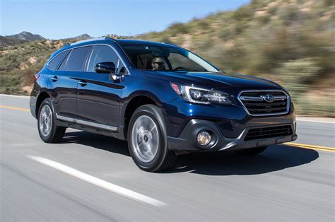 subaru outback 2018 vs 2018 subaru outback 3 6r first test the more powerful