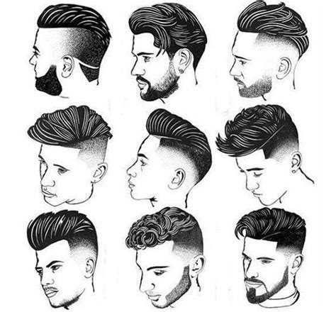 gaya rambut barbershop model rambut