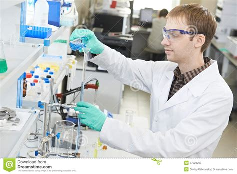 man chemist scientist researcher in laboratory royalty