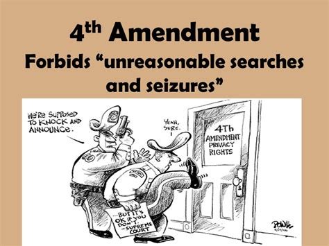 Which Amendment Protects From Unreasonable Searches And Seizures Bill Of Rights Ppt