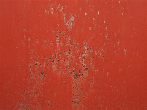Metallic Home Decor red painted rusty metal texture free grunge and rust