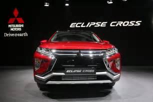 Mitsubishi Eclipes 2018 Mitsubishi Eclipse Cross Brings Evo Tech To Geneva