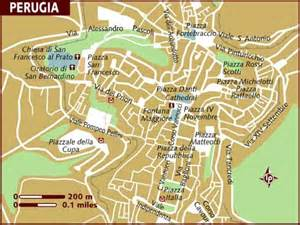Perugia Italy Map by Map Of Perugia
