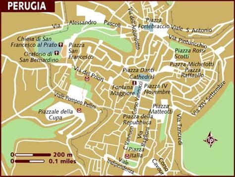 map of perugia italy map of perugia
