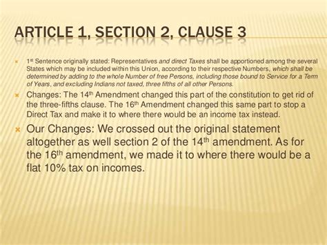 article i section 2 constitution edits