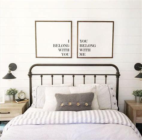 bedroom wall signs best 25 farmhouse master bedroom ideas on pinterest