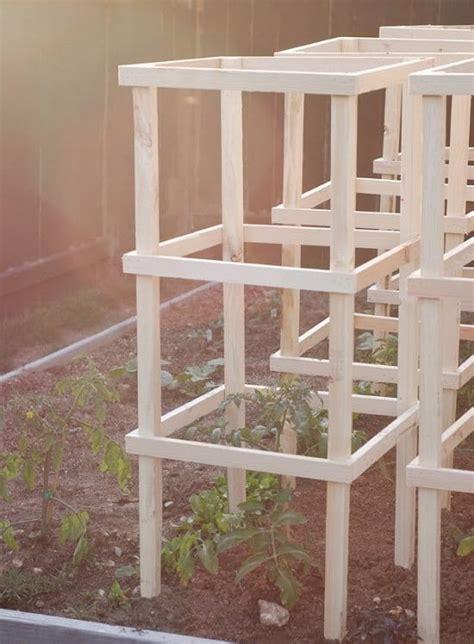 diy tomato cage  stake ideas balcony garden web