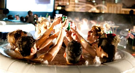 party in the bathtub hot tub cinema new york