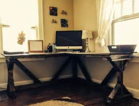 wood diy corner desk bitdigest design diy corner desk