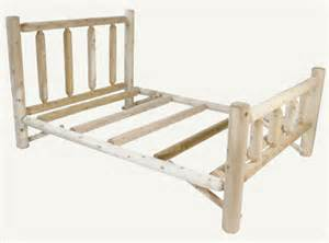 Pine Log Bed Frame Pine Log Bed Frame Image Search Results
