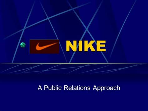 The Overall History Of Nike Authorstream Nike Powerpoint Template