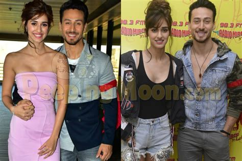 Disha Set 2 In 1 tiger and disha glam up all the baaghi 2 promotions