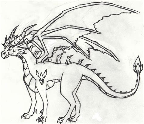 Drawing Dragons by Cool Easy To Draw Dragons Www Imgkid The Image Kid